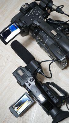 PXW-Z160とHXR-NX80