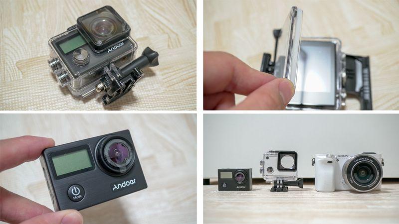 4KアクションカメラAndoer
