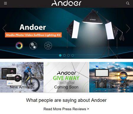 Andoer公式HP