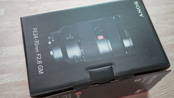 FE24-70mm F2.8 GM 化粧箱
