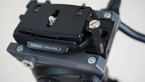 Velbon 三脚アクセサリー QRA-635LII クイックシューセット