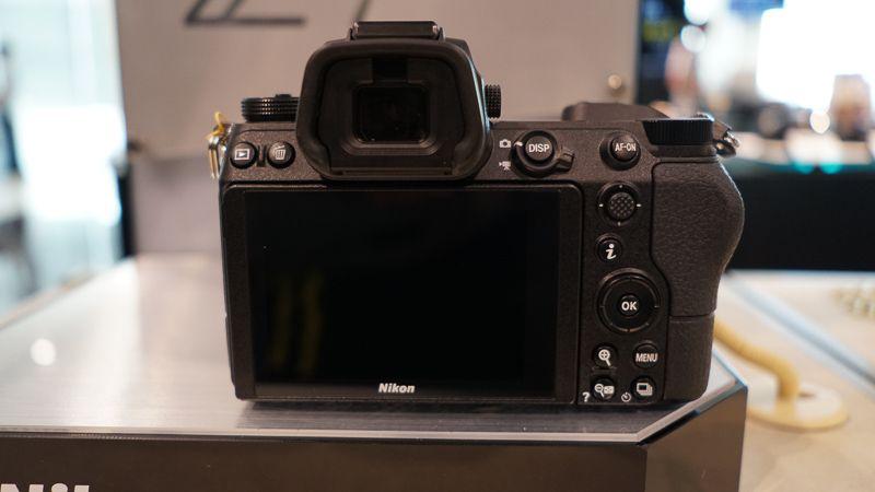 Nikon Z7背面