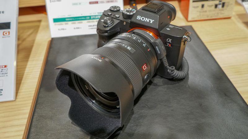 FE 24mm F1.4 GMを装着したα7Ⅲ