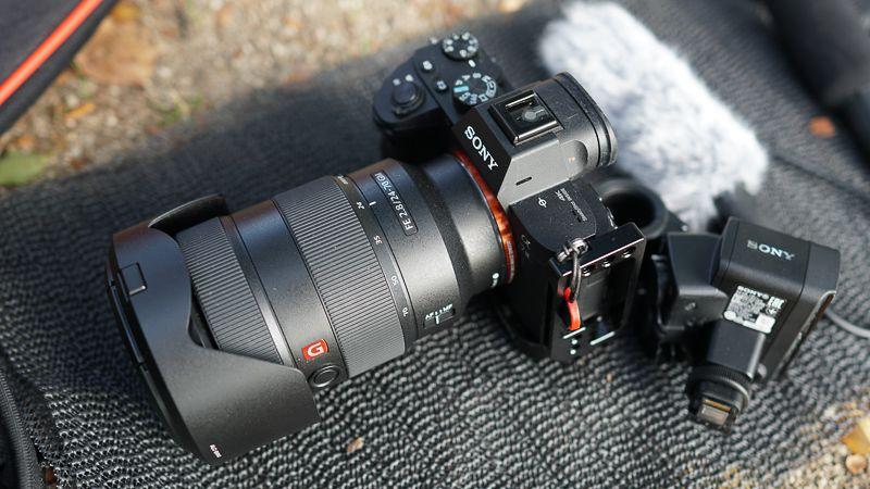 SONY α7ⅢとXLR-K2M