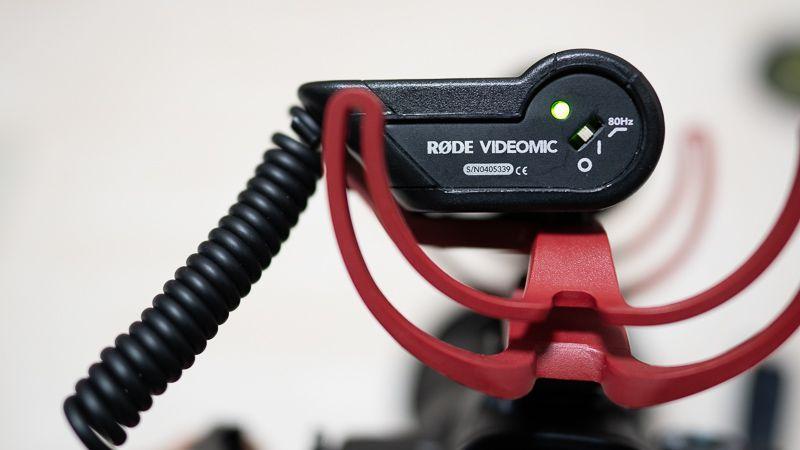 RODE VideoMic Rycoteのローカットフィルター