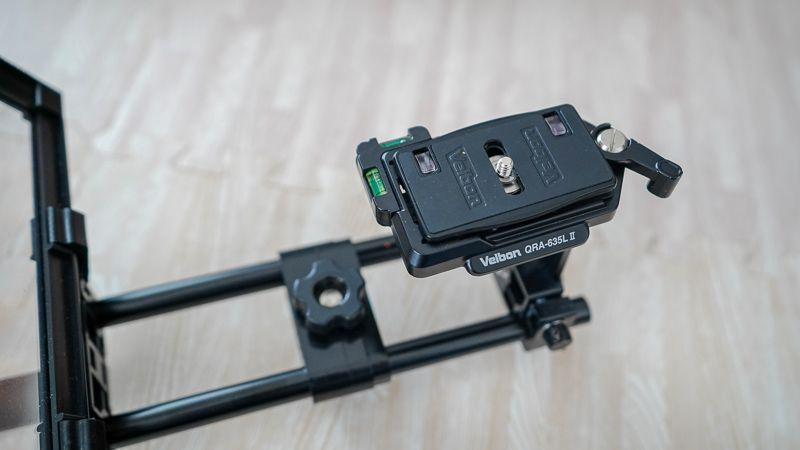 クイックリリースプレート Velbon QRA-635L Ⅱ