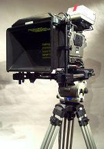 カメラ付きのプロンプター