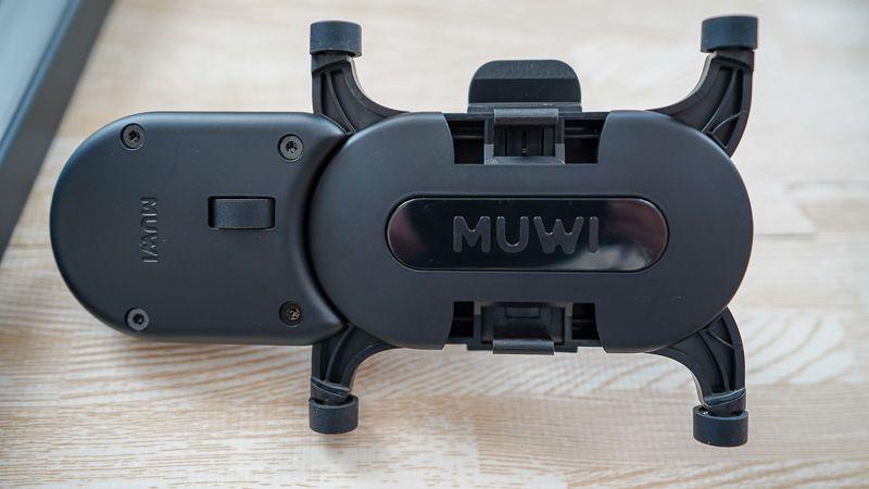 MUWI本体にFLOW Xを装着