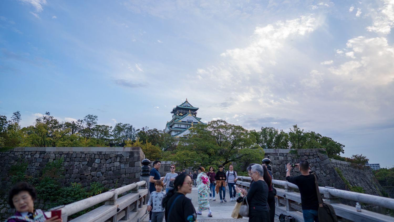 SONY FE24mmF1.4GMの作例 大阪城公園