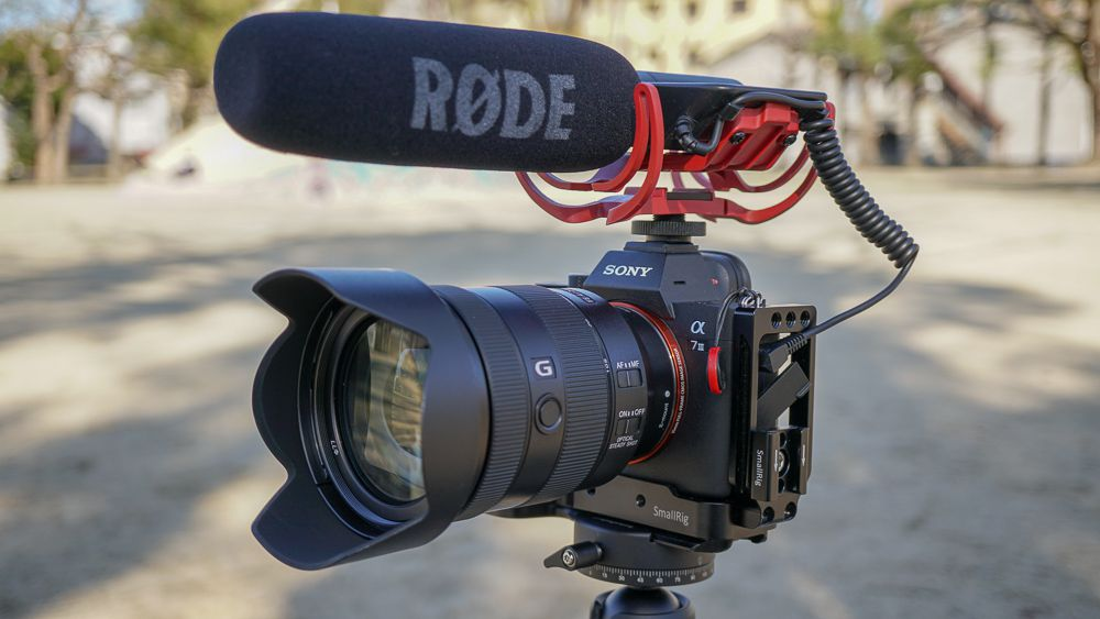 SEL24105Gとα7Ⅲ RODE Video MIC Rycote
