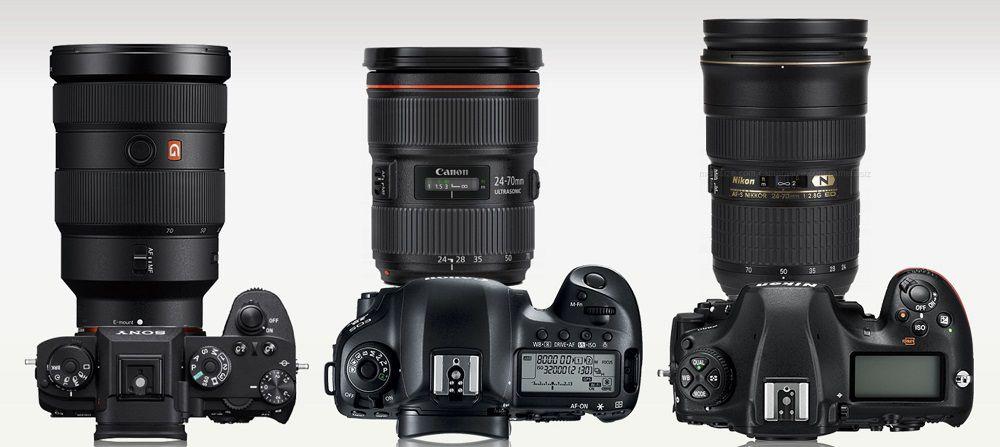 SONY・Canon・Nikon大三元レンズ比較