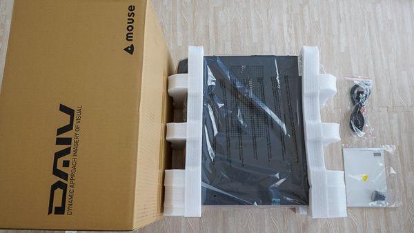 マウス×動画編集パソコン速報コラボPC「DAIV-DGZ530S-MVPR」同梱品