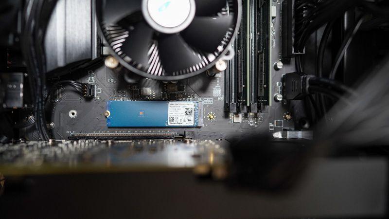 マウスコンピューターのパソコンのSSD